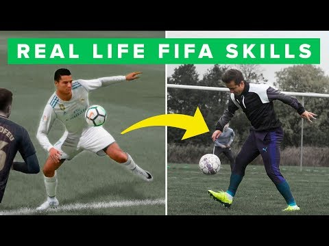 LEARN BEST FIFA SKILL MOVES IN REAL LIFE