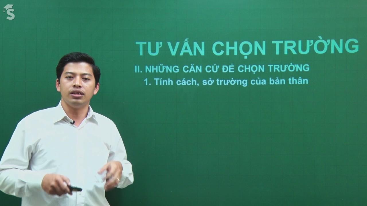 Tư vấn chọn trường, ngành nghề - Thầy giáo Phạm Quốc Toản