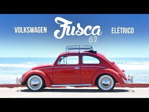 VW Fusca el�trico 1963 - Teste exclusivo Webmotors