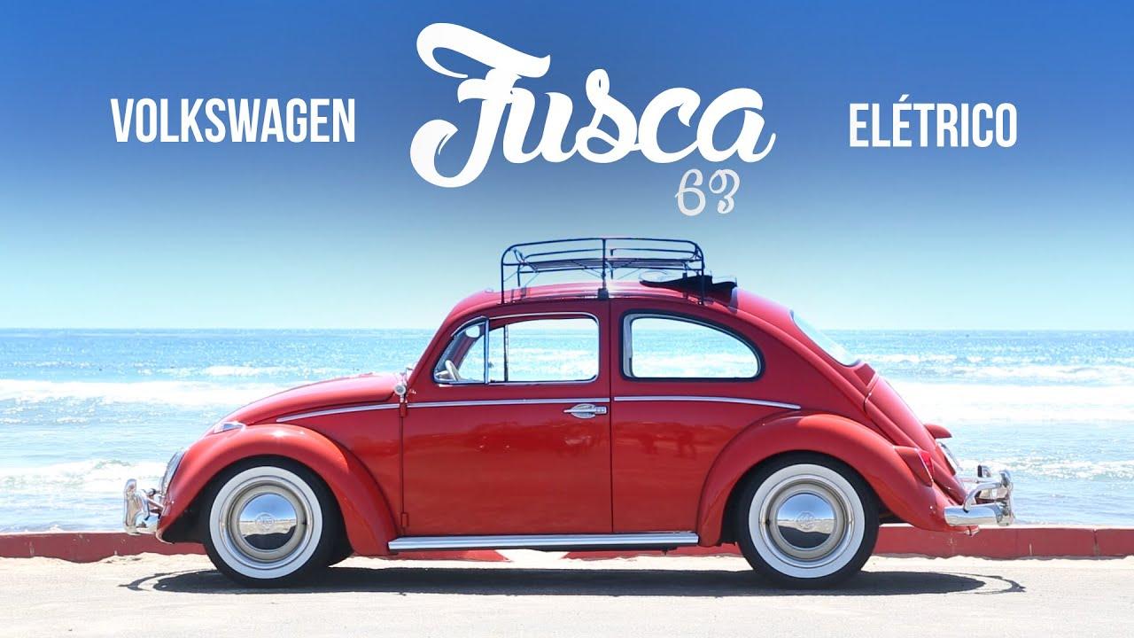 VW Fusca elétrico 1963 - Teste exclusivo WebMotors - YouTube