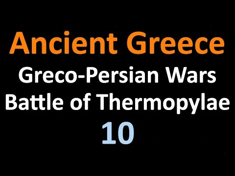 Greco Persian Wars - Battle of Thermopylae - 10