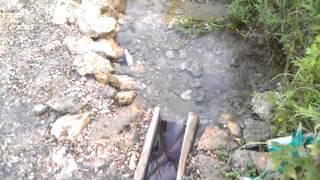 видео Рыбалка на угре домики: отдых у родника