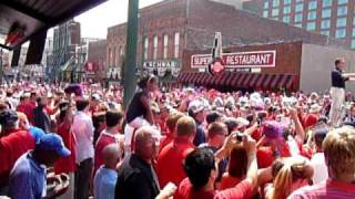 """Ole Miss Band Playing """"Dixie"""" on Beale Street"""