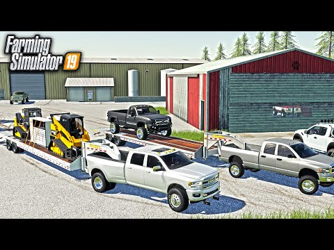 $1,800,000 ABANDONED PROPERTY AUCTION! (FOUND CUSTOM TRUCKS & EQUIPMENT) | FARMING SIMULATOR 2019