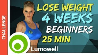 Beginner Fat Burning Workout to Lose Weight at Home in 4 Weeks