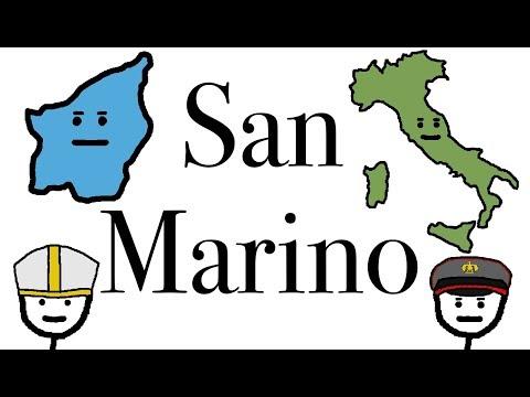 The Tiny Italian Microstate of San Marino.