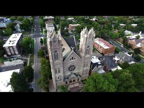 Cathedral of the Madeleine in Salt Lake City, Utah.