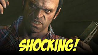 Top 5 - Shocking GTA 5 moments (story spoilers inside)