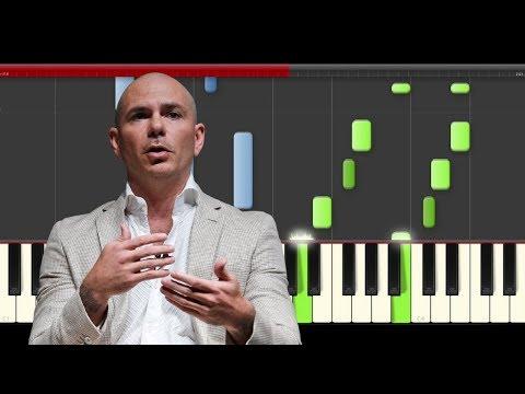 Pitbull Options Marley piano midi tutorial sheet partitura cover app karaoke