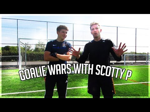 Goalie Wars with Wembley Cup MoM Scotty P!!