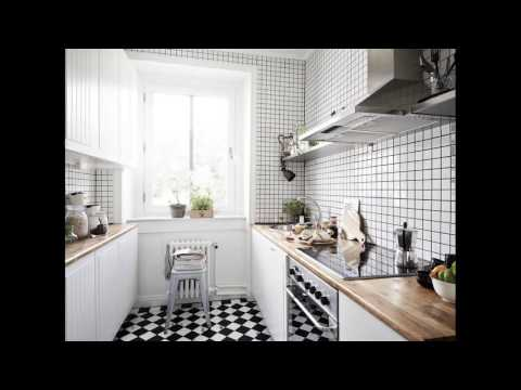 Kitchen Designs Black And White Tiles