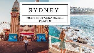 The BEST Instagrammble spots in SYDNEY!
