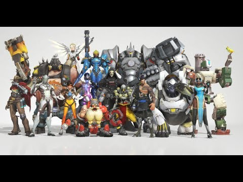 If overwatch characters had theme songs