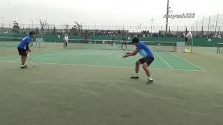 ソフトテニス 6 minutes highlight 2016年 アジア選手権 男子個人 準々決勝 ドンフン・ボムジュン 対 内本・丸山
