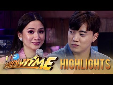 Mariel tears up as Ryan opens up about his father | It's Showtime