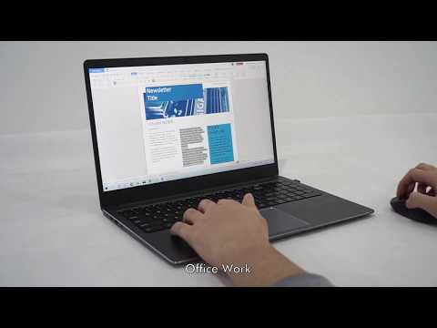 CHUWI AeroBook Pro 15.6 Hands-on | Core™ i7, 16GB DDR4, 512GB SSD