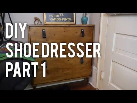 How to Make a Shoe Dresser  DIY  YouTube