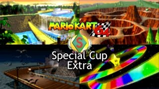 Mario Kart 64 - Special Cup Extra / Mirror Mode (2 players, 1080p widescreen)