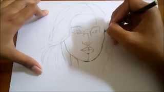 How to Draw Dian Sastrowardoyo Face with color pencil: Menggambar foto dian sastrowardoyo