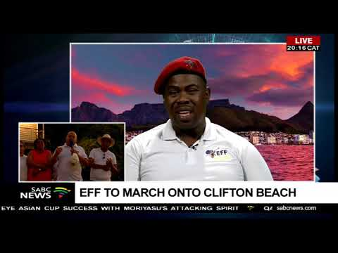 EFF to descend on Clifton beach on Sunday
