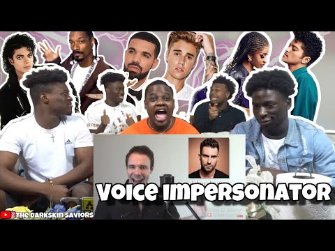 ONE GUY 54 VOICES With  Drake TØP PATD Puth - Famous Singer Impressions REACTION