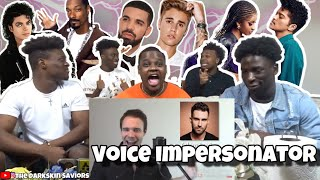 ONE GUY, 54 VOICES (With Music!) Drake, TØP, P!ATD, Puth - Famous Singer Impressions |REACTION|