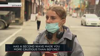 Has a second wave of COVID-19 made you more cautious than before? | Outburst