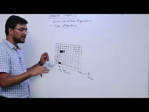 Computer Graphics Mod 02 Lec 01 Introduction to Scan Conversion Algorithm