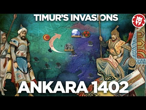 Timur against Bayezid - Battle of Ankara 1402 DOCUMENTARY