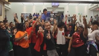 Lip Dub Dance : High School - Uptown Funk - HD