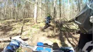Simcoe County Dirt Bike Trail Riding 2012 gopro HD