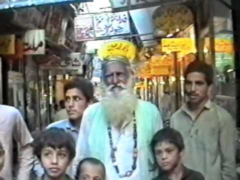 The streets and the bazars of Peshawar (in 1990)