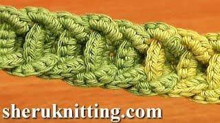 Crochet Braided Cord Tutorial 56 Naszyjniki szydełkowe