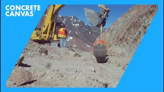 Concrete Canvas (CC) Ditch Lining - Southern Chile (High Altitude)