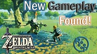 Zelda: Breath of the Wild - NEW Gameplay Found - Analysis