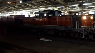 2020/01/21 JR貨物 2084レ DD51 1802 名古屋駅 | JR Freight: Cargo Train at Nagoya