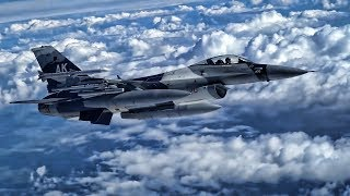 18th Aggressor Squadron F-16 Falcons • Red Flag-Alaska 19-2