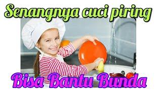 Ngajarin Anak Cuci Piring dari Kecil (Khairina zahra)