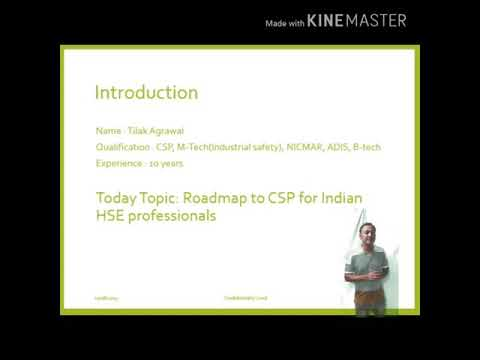 Roadmap To CSP For Indian Safety Professionals