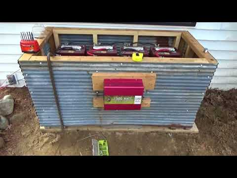 Getting AC Solar Power In The Tiny House