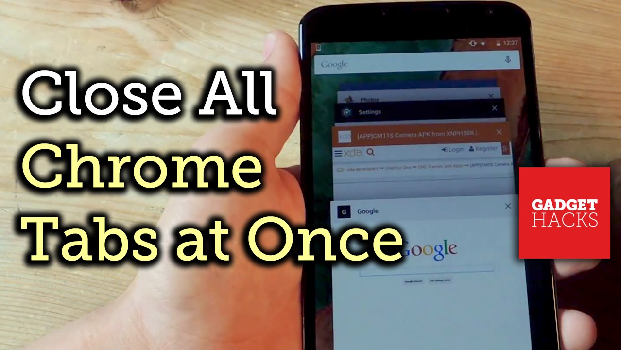 Close All Chrome Tabs Simultaneously on Any Android or iOS Device [How-To]