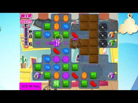 Candy Crush Saga Level 2375 NO BOOSTERS Cookie