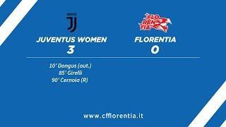 Juventus Women vs Florentia - 13° Giornata Serie A Calcio Femminile - Highlights