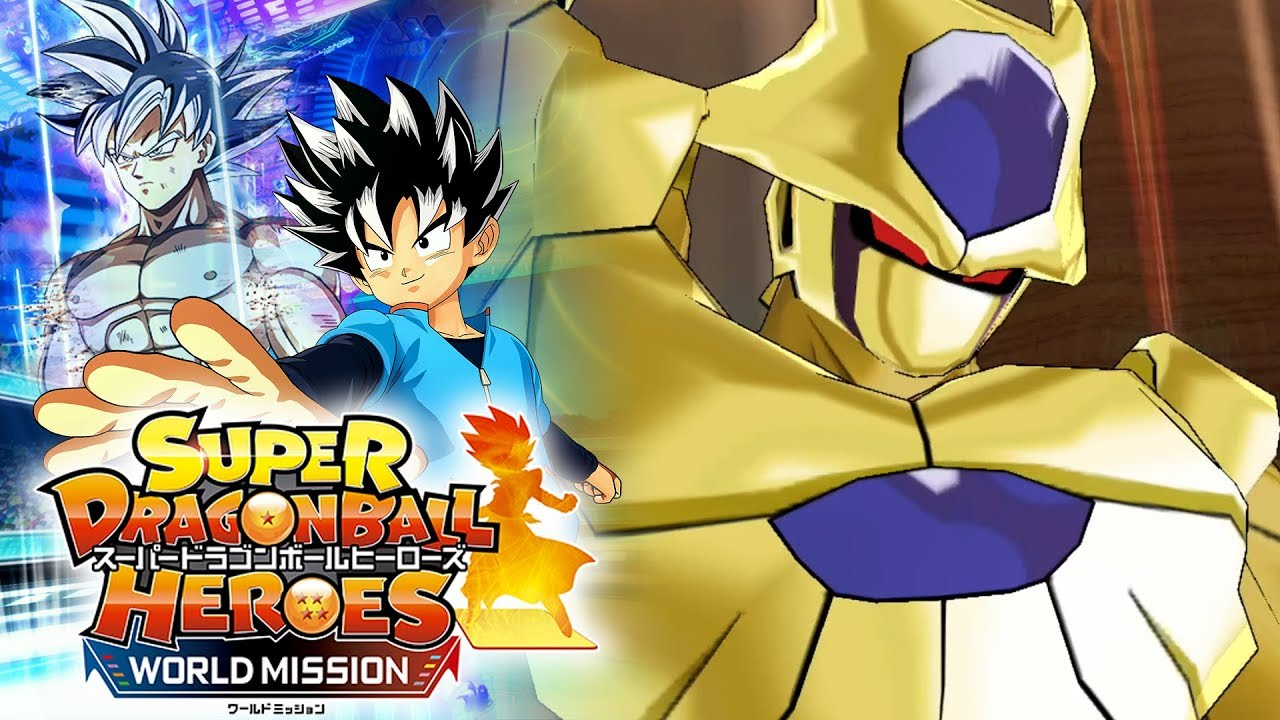 golden cooler super dragon ball heroes