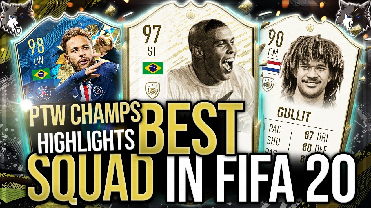 FIFA 20 ULTIMATE TEAM PRO PLAYER FUT CHAMPIONS HIGHLIGHTS - THE BEST TEAM IN FIFA 20?!