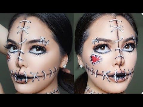 VooDoo Doll | Easy Halloween Makeup Tutorial | Mire_Graphic