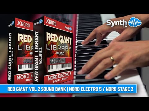 Red Giant Library - VOLUME 2 - Custom Sound Library for Nord Electro 5 / Stage 2 Series