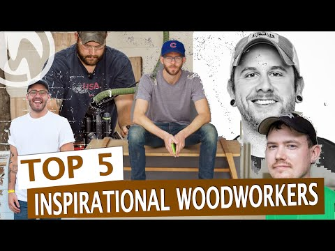 TOP 5 #Woodworking #YouTubers You Should Watch Right Now!