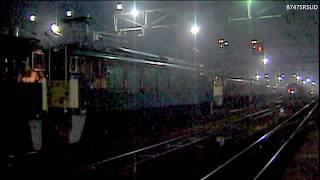 碓氷峠 EF63+EF62+12系回送(発車)その3