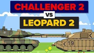 British Challenger 2 vs German Leopard 2 - Which Is Better? - Main Battle Tank / Military Comparison
